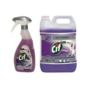 Cif Prof 2in1 Cleaner Disinfectant 750ml tisztító és fertõtlenítõ 6db/karton