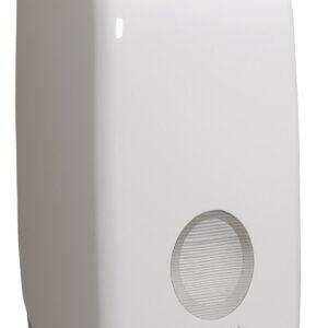 Toalettpapír (hajtogetott) adagoló,fehér 34x17x12cm AQUARIUS KC