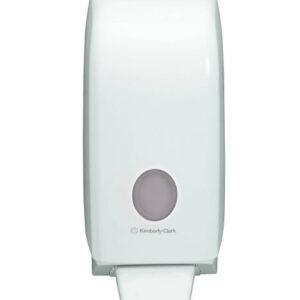 AQUARIUS Folyékonyszappan adagoló,fehér,1000ml patronhoz,24x12x11cm