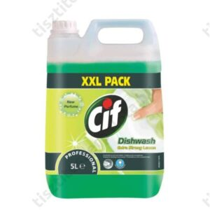 Cif Prof Dishwash Extra Lemon Strong kézi mosogatószer 5l