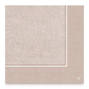 Dunilin szalvéta Lina greige 40×40 12x50db/krt.