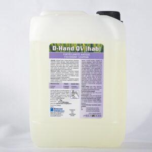 D-Hand QV HAB 20kg fertõtlenítõ hatású habszappan,illatmentes,MRSA  hatással