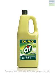 Cif Prof.cream lemon karcmentes folyékony súrolószer 2l