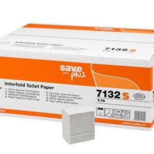 Toalettpapír hajtogatott 2rét/11x18cm 36x250lap