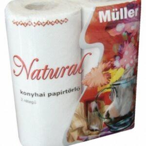 Papírtörlõ natural 2rét/2tek 14cs/zsák Müller