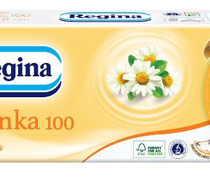 Papírzsebkendõ 3rét 100db-os kamilla 50csom/24zsák/rkl Regina