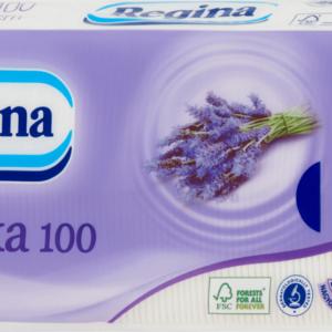 Papírzsebkendõ 3rét 100db-os levendula 50csom/24zsák/rkl Regina