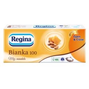 Papírzsebkendõ 3rét 100db-os méz-mandula 50csom/24zsák/rkl Regina