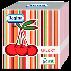 Szalvéta 1rét/45lap 29×30 Party narancs/cseresznye Mix(2) 36csom/32krt/rkl Regina