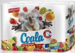 Toalett papír 3rét/24tek Tutti frutti 10m 4cs/zsák 30zsák/raklap Coala