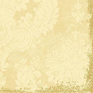 Duni Classic Royal Cream szalvéta 40x40cm 4rét 50lap/cs 6cs/karton 174229