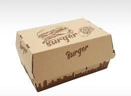 Hamburgeres doboz papír 210x130x110mm NAGY 50db/cs 71985